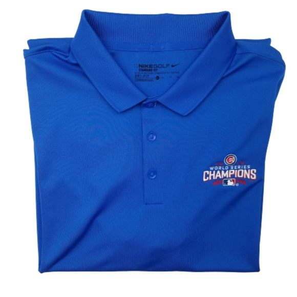 Nike Other - Nike Golf Standard Fit Cubs World Series Polo XL